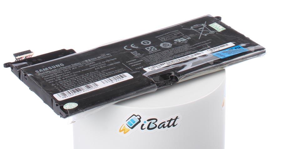 Аккумуляторная батарея для ноутбука Samsung NP535U4C. Артикул iB-A625.Емкость (mAh): 6120. Напряжение (V): 7,4
