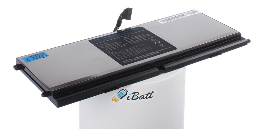 Аккумуляторная батарея HTR7 для ноутбуков Dell. Артикул iB-A114.Емкость (mAh): 4400. Напряжение (V): 14,8