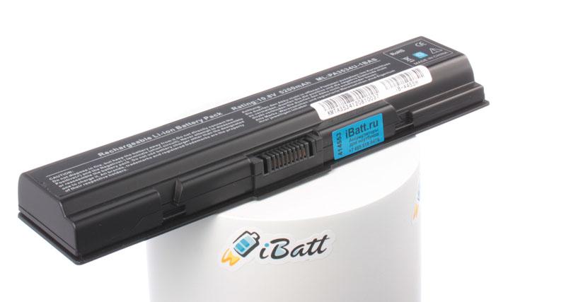 Аккумуляторная батарея iBatt iB-A455H для ноутбука ToshibaЕмкость (mAh): 5200. Напряжение (V): 10,8