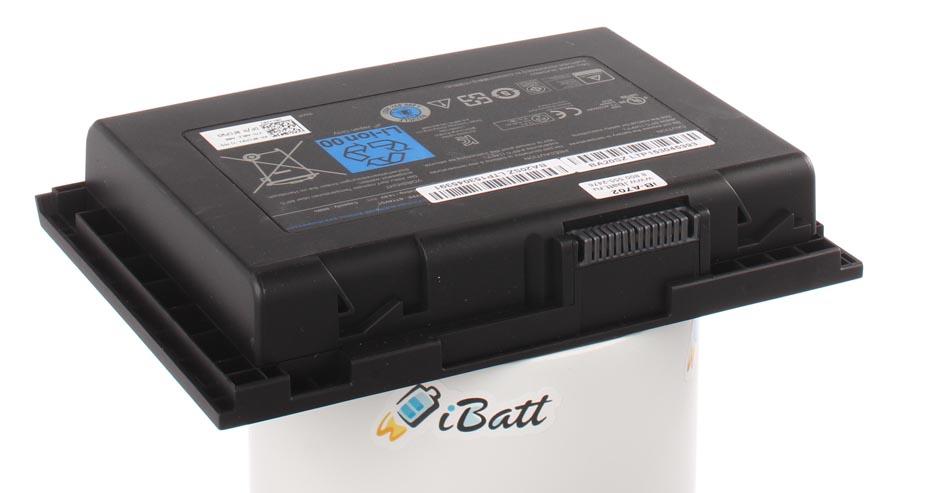Аккумуляторная батарея iBatt iB-A702 для ноутбука DellЕмкость (mAh): 6480. Напряжение (V): 14,8