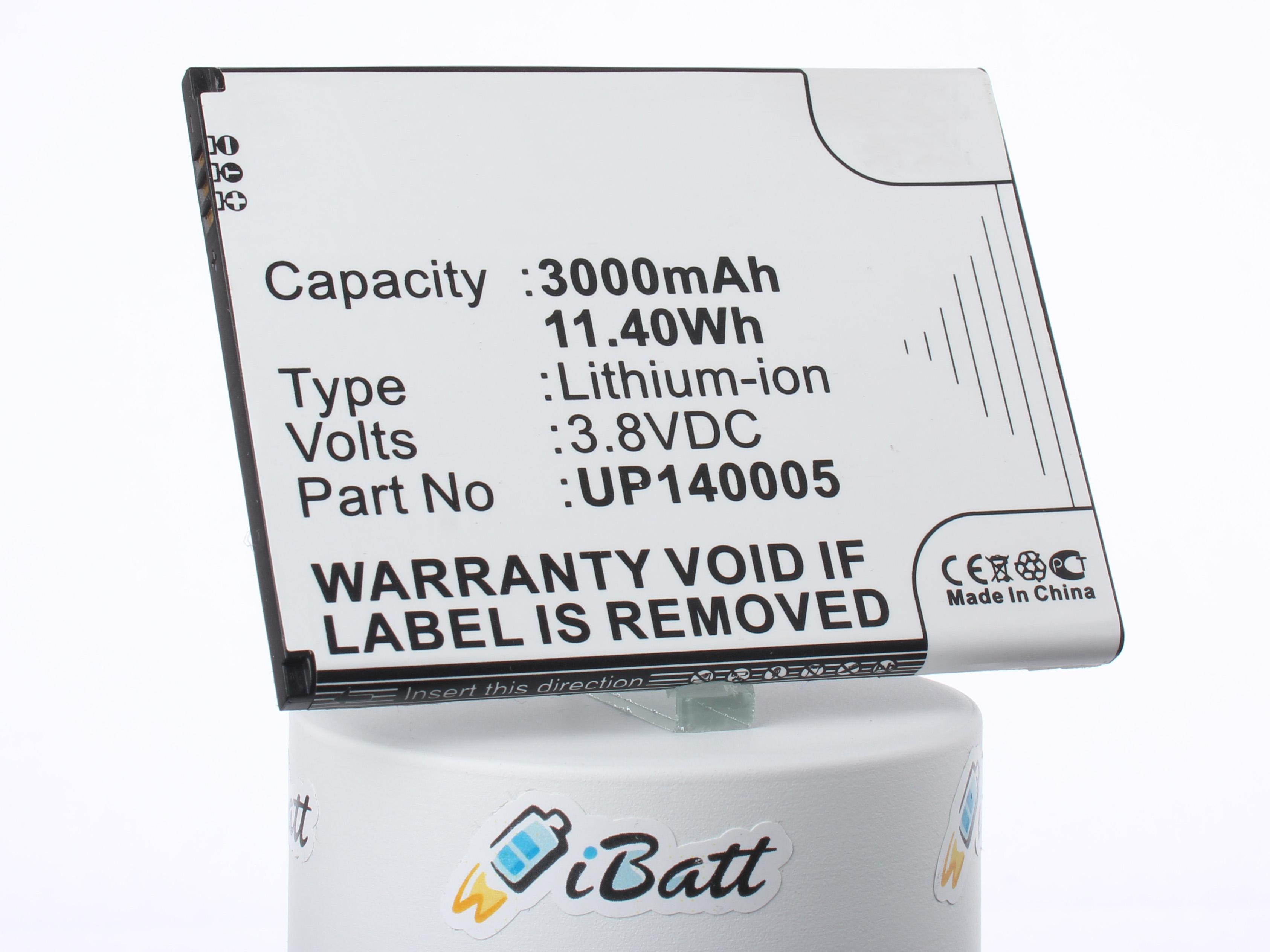 Аккумуляторная батарея UP140005 для телефонов, смартфонов InFocus. Артикул iB-M2037.Емкость (mAh): 3000. Напряжение (V): 3,8