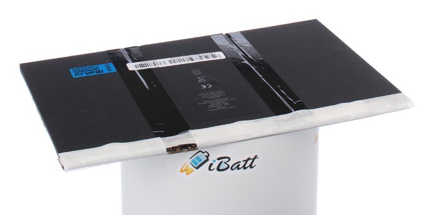 Аккумуляторная батарея для ноутбука Apple iPad 4 32Gb Wi-Fi + Cellular. Артикул iB-A407.Емкость (mAh): 11500. Напряжение (V): 3,8