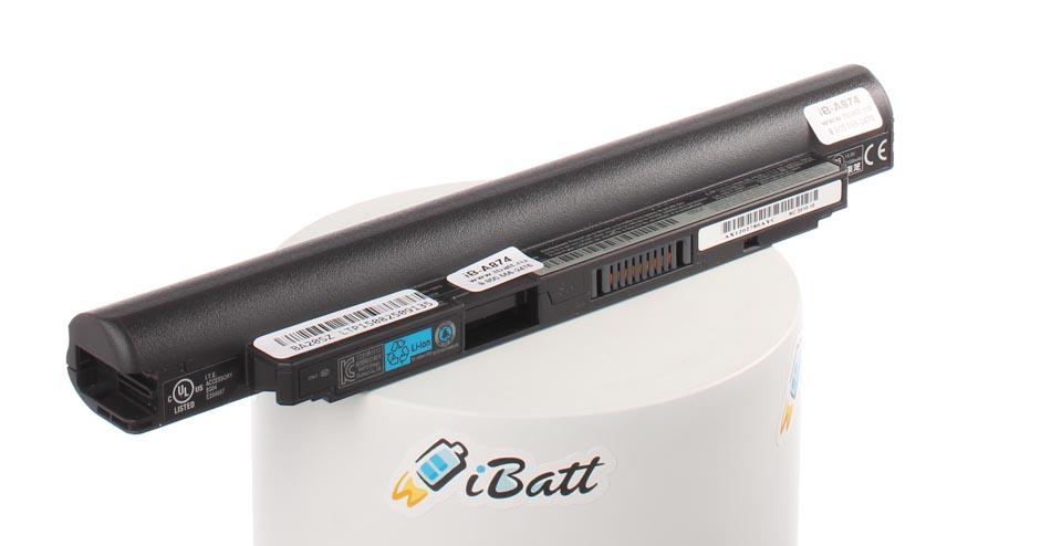 Аккумуляторная батарея iBatt iB-A874 для ноутбука ToshibaЕмкость (mAh): 2200. Напряжение (V): 10,8